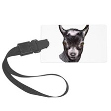 Goat-Portrait-Pygmy.png Large Luggage Tag
