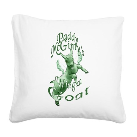goatladysbaby.png Square Canvas Pillow