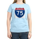 Interstate 75 Women's Pink T-Shirt
