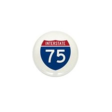 Interstate 75 Mini Button (100 pack)