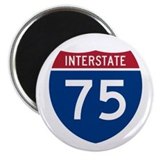 "Interstate 75 2.25"" Magnet (100 pack)"