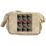 Art man Messenger Bag
