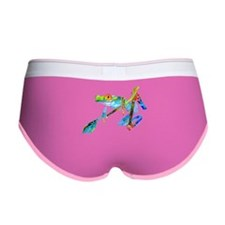 Tree Frog Crazy Colors Women's Boy Brief