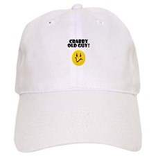 Crabby Old Guy Baseball Cap