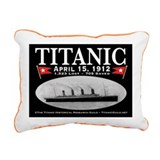 Titanic Ghost Ship (bl) Rectangular Canvas Pillow