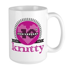 10th Anniversary Peeeeenk! Large Mug
