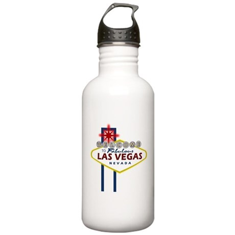 VegasSign.PNG Stainless Water Bottle 1.0L