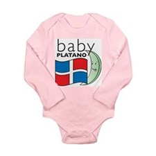 Baby Platano Infant Creeper Long Sleeve Infant Bod