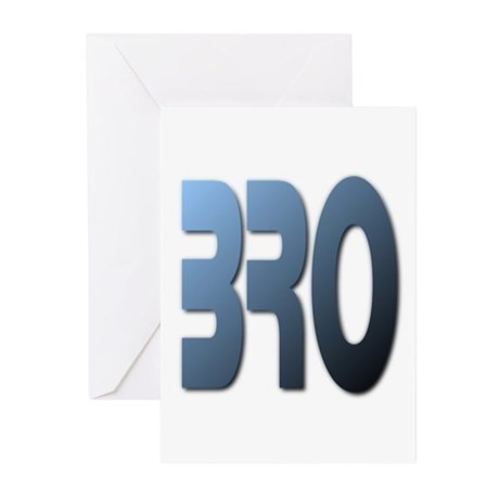 BRO Greeting Cards (Pk of 10)