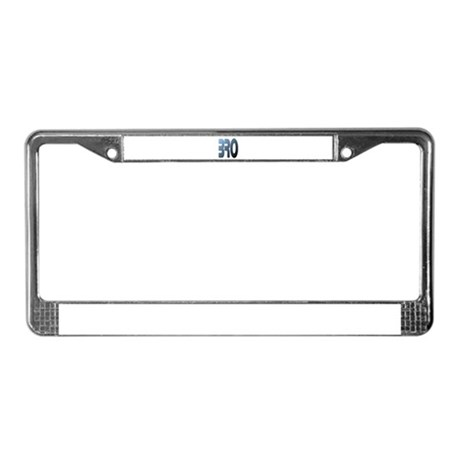 BRO License Plate Frame
