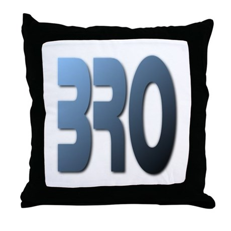 BRO Throw Pillow