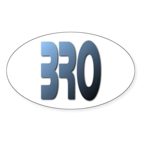 BRO Oval Sticker