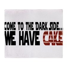 DarkSideCake.png Throw Blanket