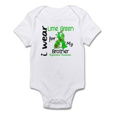 I Wear Lime 43 Lymphoma Infant Bodysuit