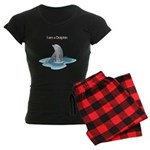 I am a Dolphin Women's Dark Pajamas