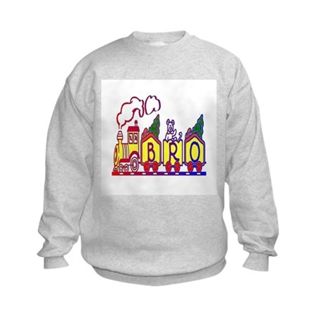 Bro Train Kids Sweatshirt