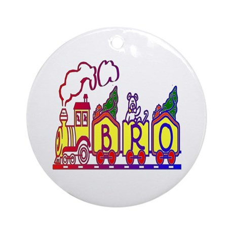 Bro Train Ornament (Round)