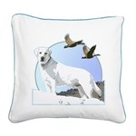 labrador Square Canvas Pillow