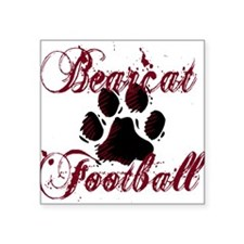 "PRBFOOTBALL1.png Square Sticker 3"" x 3"""