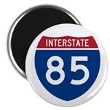 "Interstate 85 2.25"" Magnet (100 pack)"