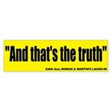 And that's the Truth Sticker - Edith Ann