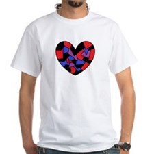 Colour Fragment Heart Shirt