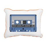Vintage_Chick Retro Tape 3 Rectangular Canvas Pill