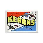 Camp Kearns Utah Rectangle Magnet