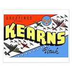 Camp Kearns Utah Small Poster