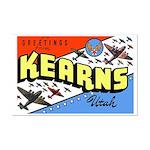 Camp Kearns Utah Mini Poster Print