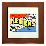 Camp Kearns Utah Framed Tile