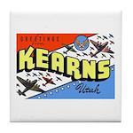 Camp Kearns Utah Tile Coaster