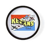 Camp Kearns Utah Wall Clock