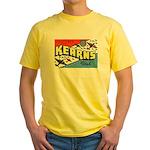 Camp Kearns Utah Yellow T-Shirt