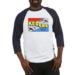 Camp Kearns Utah (Front) Baseball Jersey