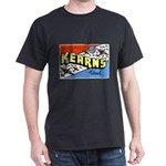 Camp Kearns Utah (Front) Black T-Shirt