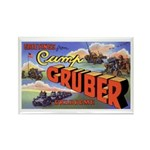 Camp Gruber Oklahoma Rectangle Magnet