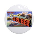 Camp Gruber Oklahoma Ornament (Round)