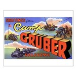 Camp Gruber Oklahoma Small Poster