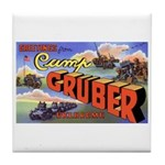 Camp Gruber Oklahoma Tile Coaster