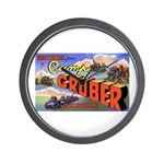 Camp Gruber Oklahoma Wall Clock