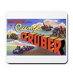 Camp Gruber Oklahoma Mousepad