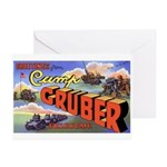 Camp Gruber Oklahoma Greeting Cards (Pk of 10)