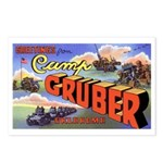 Camp Gruber Oklahoma Postcards (Package of 8)