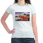 Camp Gruber Oklahoma (Front) Jr. Ringer T-Shirt