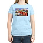 Camp Gruber Oklahoma (Front) Women's Pink T-Shirt