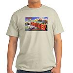 Camp Gruber Oklahoma (Front) Ash Grey T-Shirt