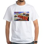 Camp Gruber Oklahoma (Front) White T-Shirt