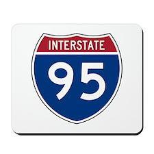 Interstate 95 Mousepad