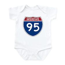 Interstate 95 Infant Creeper